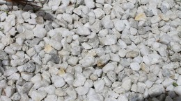 WHITE ICE PEBBLES